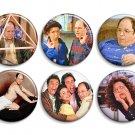 Seinfeld George Constanza ~ CHOOSE 1 ~ - 1.5 inch pinback button, clip or magnet
