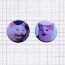 Cat no banana tumblr meme ~ CHOOSE 1 ~ - 1.5 inch pinback button, clip or magnet