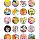 90s cartoons ~ CHOOSE 1 ~ - 1.5 inch pinback button, clip or magnet