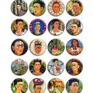 Frida Kahlo ~ CHOOSE 1 ~ - 1.5 inch pinback button, clip or magnet
