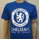 Chelsea FC Pride Of London   Royal Blue  - T Shirt -  Football club Soccer  Tee