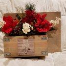 Welcome Planter Box/Front Porch Planter Box/Wood Planter Box