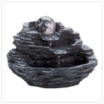 Rock Design Table Fountain