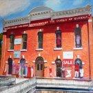 """Basin Bath House, Eureka Springs, AR, oil, 24"""" x 30"""" gallery wrap canvas"""