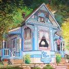 "Cliff Cottage, Eureka Springs, Arkansas, 24"" x 30"" oil, gallery wrap"
