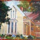 "Presbyterian Manse House, Eureka Springs, OIL, gallery wrap, 20"" x 30"""