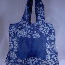 Reusable Eco-Friendly TuckerBags Blue Gardenia Shopping Tote Bag