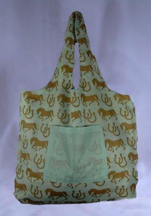 Reusable Bag Shopping Tote Eco-Friendly TuckerBags Horses