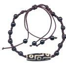 Lucky Tibetan Bead Bracelet Hippie Style Jewelry Adjustable