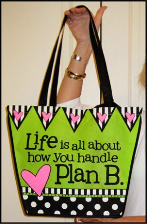 Tingle Totes Eco-Friendly Shopping Bag Plan B Green Recycled Reusable