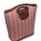 Viva Beads Lunch Bag Insulated Tote Eco-Friendly Pink Paradise Pattern