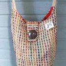 Viva Beads Inspired Hobo Handbag VB2 Shoulder Bag Wide Strap