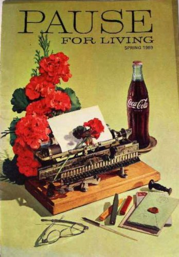 Coca-Cola Pause for Living Booklet Vintage Magazine Coke Spring 1969
