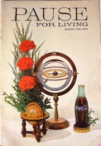 Coca-Cola Pause for Living Booklet Vintage Magazine Coke Winter 1969