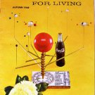 Coca-Cola PAUSE For LIVING Magazine Booklet Vintage Coke Autumn 1968 Crafts