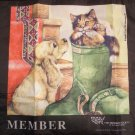 The Humane Society Member Tote Bag Zipper Compartment Cat Dog