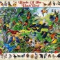 White Mountain Puzzles Birds Of The Back Yard Jigsaw Puzzle 1000 Pc NEW Sealed