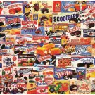 "White Mountain Puzzles Tasty Treats Jigsaw Puzzle 1000 Pc NEW Sealed 24"" x 30"""