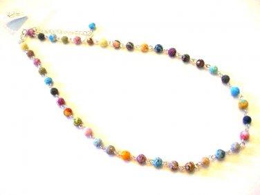"Viva Beads Necklace 18"" Strand FESTIVAL Polymer Clay Beads"