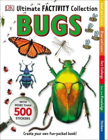 Ultimate Factivity Collection Bugs DK 500 Stickers Create Learn Draw Fun