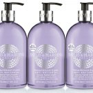 X 3 Baylis & Harding Freesia Blossom & Pear Anti-Bacterial Luxury Hand-wash 500 ml