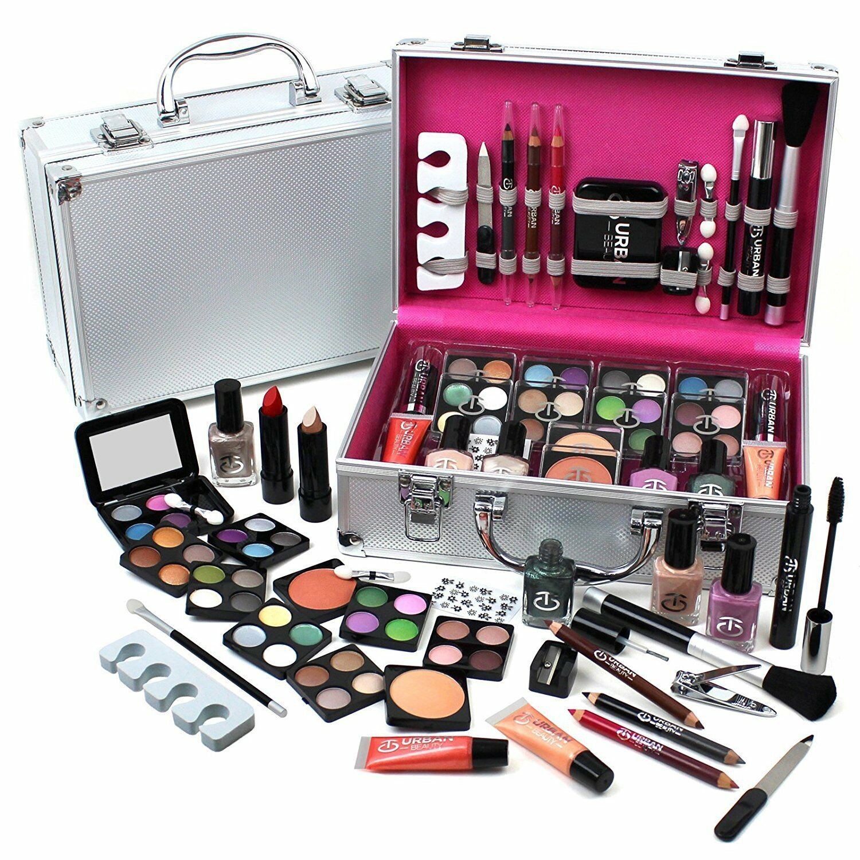 Urban Beauty Make Up Set & Vanity Case, 60pcs