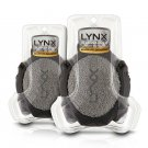 Pack of 2 Lynx Manwasher 2 Sided Shower Tool Body Puff Scrub