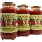 Roasted Garlic Sauce by INGRASSELINO PRODUCTS 3 pack