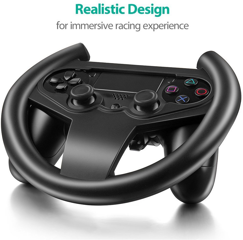 for PS4 Gaming Racing Steering Wheel For PS4 Game Controller for Sony Playstation 4