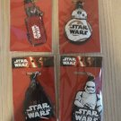 Star Wars The Force Awakens Subway Thailand Key Chains set of 4