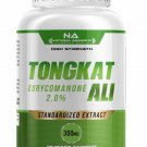 TONGKAT ALI ROOT EXTRACT STANDARDIZED 2% EURYCOMANONE HIGHEST STRENGTH 30 Capsules