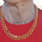 Gold Colored Chain - Eclectic #0045