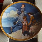 Norman Rockwell Collector Plate- Waiting On the Shore - Knowles