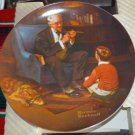 Norman Rockwell Collector Plate- The Tycoon - Knowles