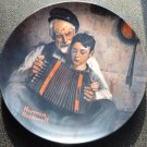 Norman Rockwell Collector Plate- The Music Maker- Knowles