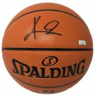 Kyrie Irving Signed 2019 All Star Money Ball Spalding Basketball LE/19 Panini