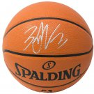 Zach LaVine Chicago Bulls Signed Indoor/Outdoor Spalding Basketball Fanatics
