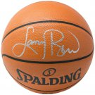 Larry Bird Boston Celtics Signed Spalding Replica Basketball BAS