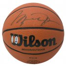 Michael Jordan Chicago Bulls Signed Wilson Basketball UDA BAS LOA A64210