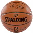 Trae Young Philadelphia Sixers Signed Replica Spalding Basketball Panini