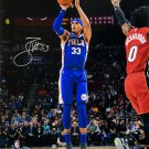 Tobias Harris Signed Philadelphia 76ers 16x20 Photo BAS