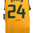 Grayson Allen Jazz Signed Yellow Fast Break Fanatics Basketball Jersey Fanatics