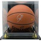 DeMarcus Cousins Signed Indoor/Outdoor Spalding Basketball JSA w/ Acylic Case