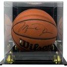 2000's Michael Jordan Bulls Signed Wilson Basketball UDA Hologram  w/ Case