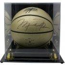 Michael Jordan Bulls Signed Gold Mr June LE 181/323 Basketball UDA w/Case
