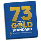 Golden State Warriors 73 Gold Standard Stretched 22x26 Canvas