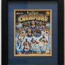 Golden State Warriors Framed 8x10 2014-15 NBA Championship Photo