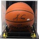 Kyrie Irving Signed Brooklyn Nets Spalding Basketball Panini COA w/ Acrylic Case