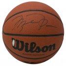 Michael Jordan Chicago Bulls Signed Wilson Basketball PSA/DNA AE03313