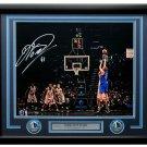 Dirk Nowitzki Signed Framed Dallas Mavericks 16x20 Photo Panini